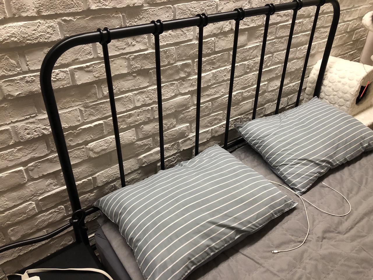 철재 침대 프레임