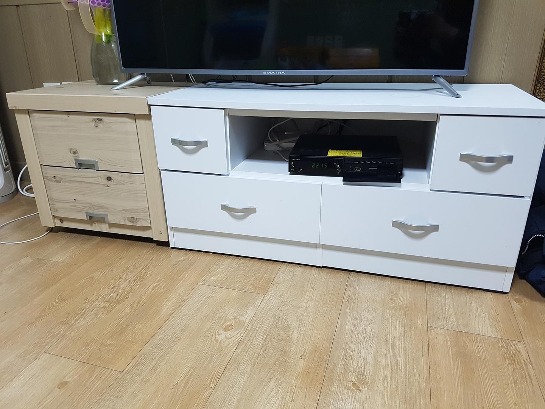 티비43인치, 세탁기15kg, 대우냉장고506L