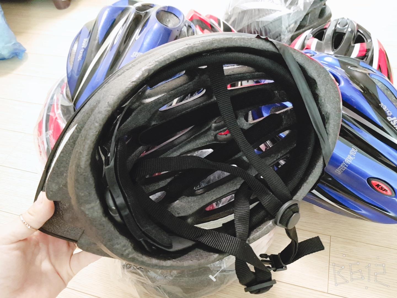 자전거 모자입니다