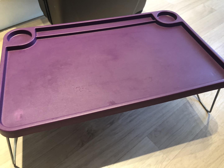 이케아 침대 트레이 베드 노트북 테이블 간이 식탁