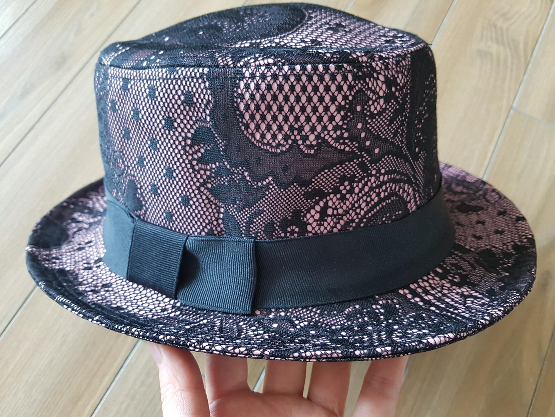 레이스 리본 모자 (새상품)