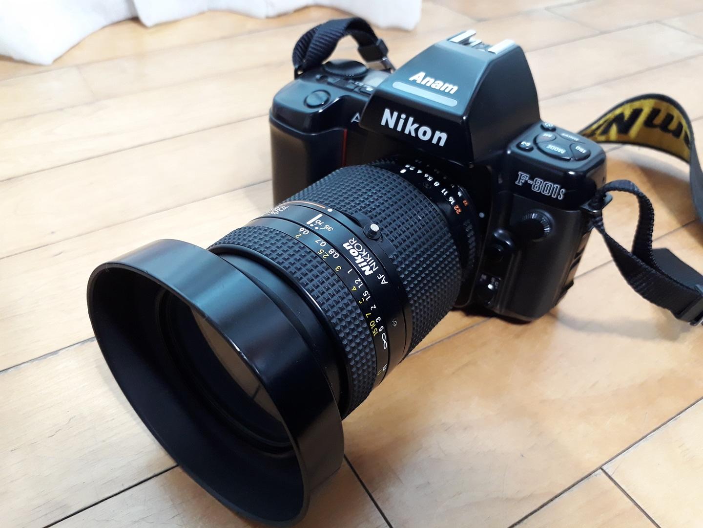 니콘801s/스트로보sb-28/니콘렌즈35-70/필름카메라