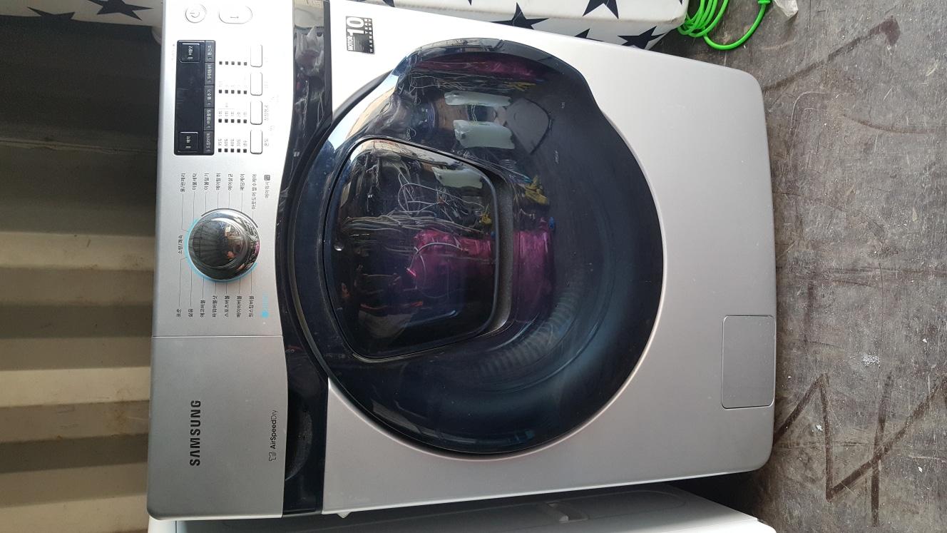 삼성 버블샷 에드위시 드럼세탁기 건조+세탁 기능 판매