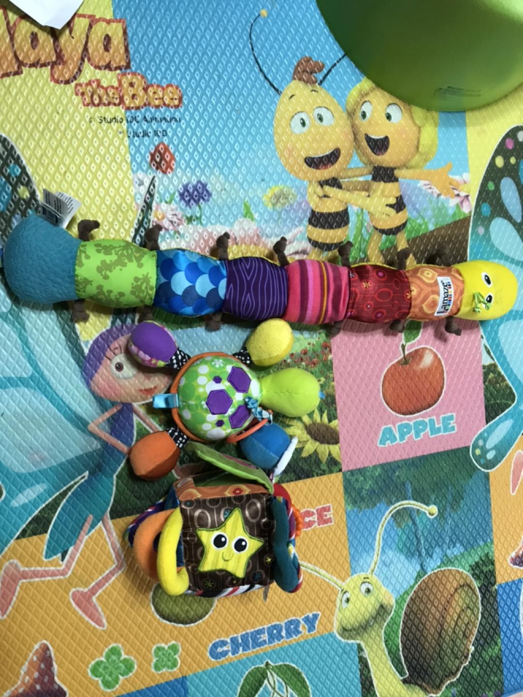 일괄판매 아기장난감! 라마즈외 유모차장난감