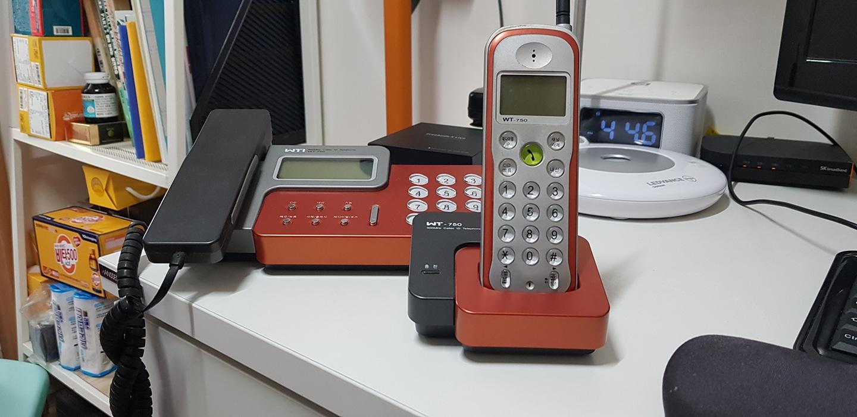 유무선전화기 콤보