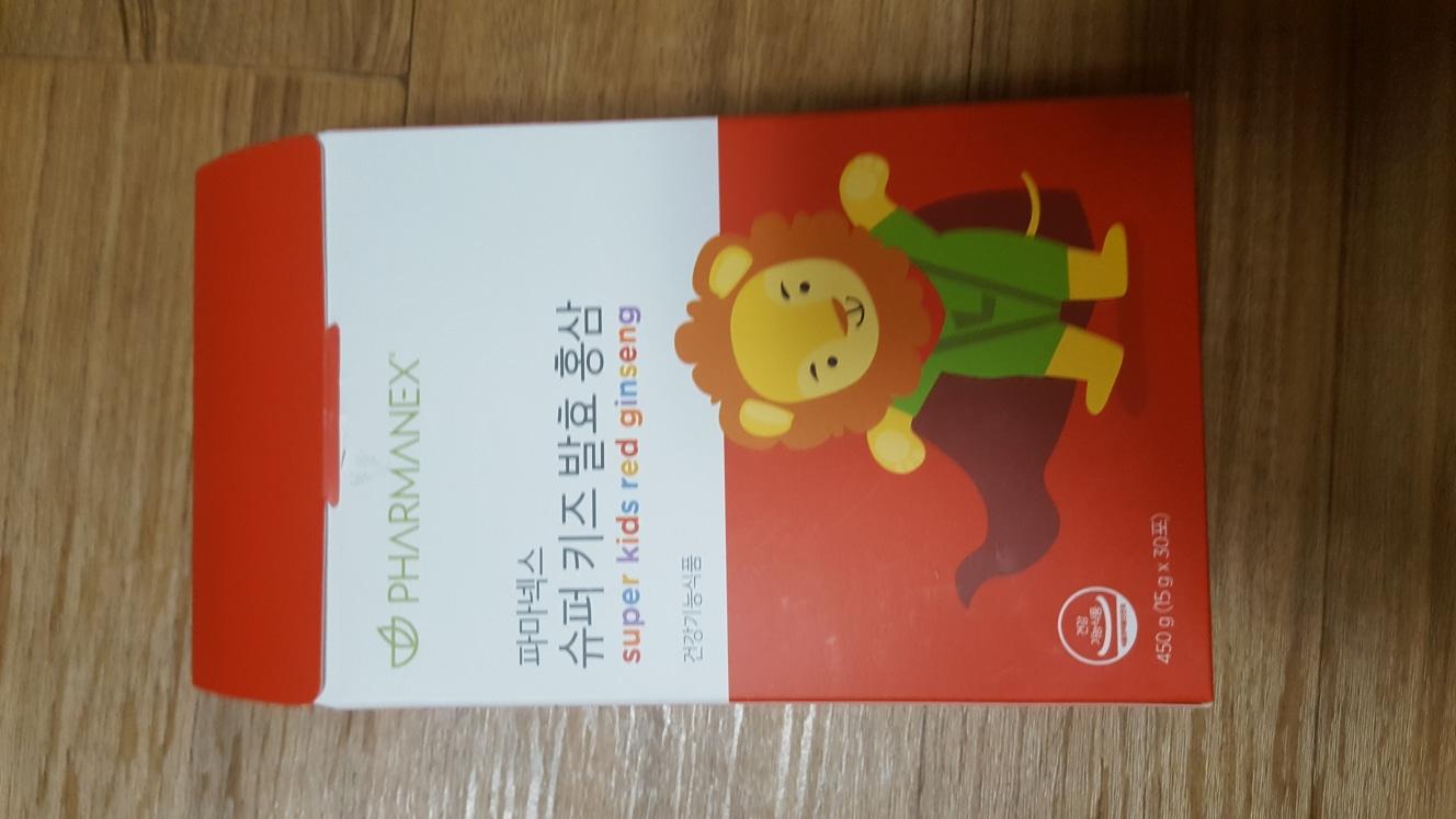파마넥스 슈퍼 키즈 발효홍삼