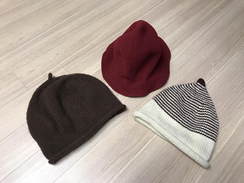 [급처분] 여성용 모자 3종 가져 가세요~~