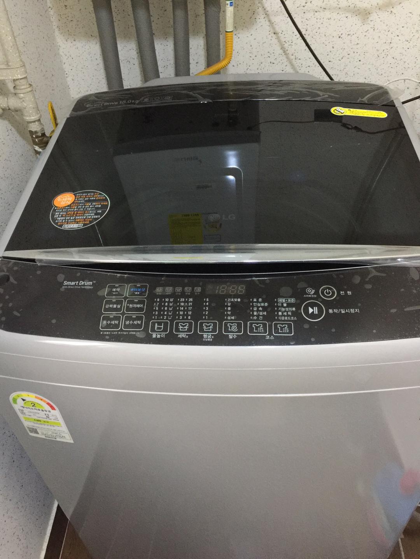LG세탁기 블랙라벨플러스 통스텐레인스 통돌이세탁기T18DT