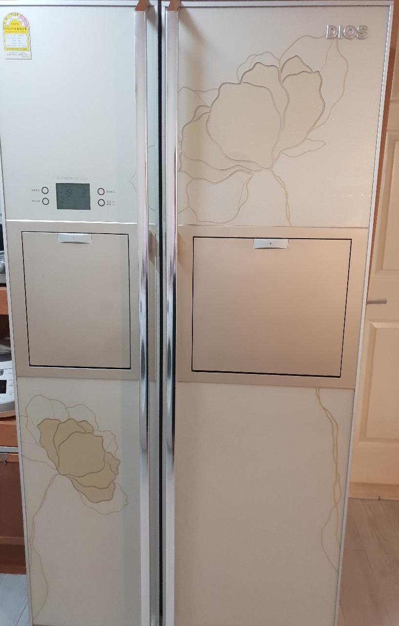 엘지 디오스 양문형 냉장고