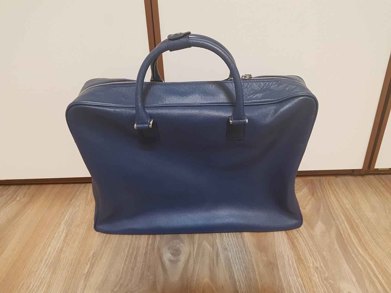 남성가방 토드백, 가죽, 여행가방, 꼴라쥬바이엘 디자이너 가방 미사용품