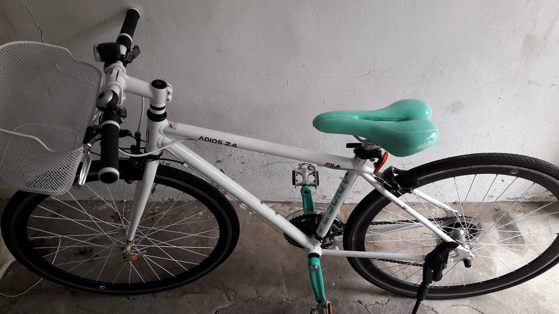 휠라자전거 팔아요