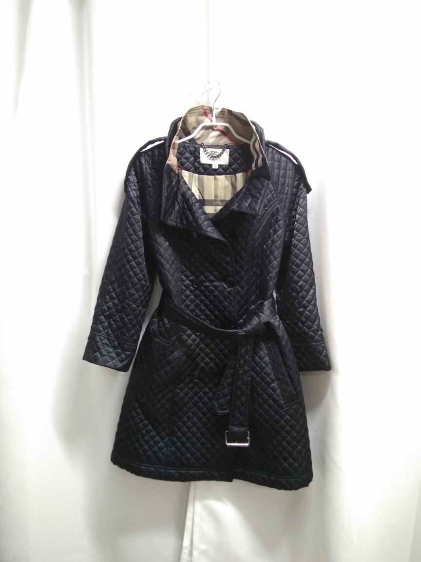 버버리 누빔 코트