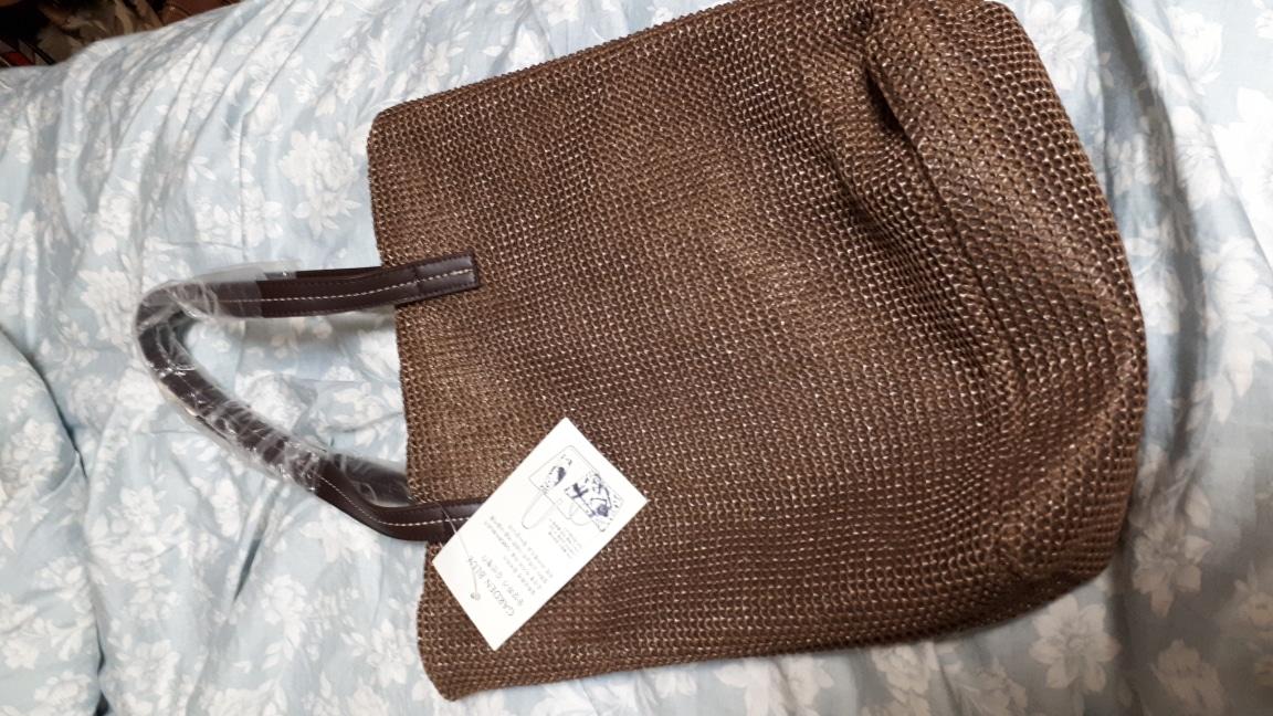 갈색 가벼운 가방 (새제품)