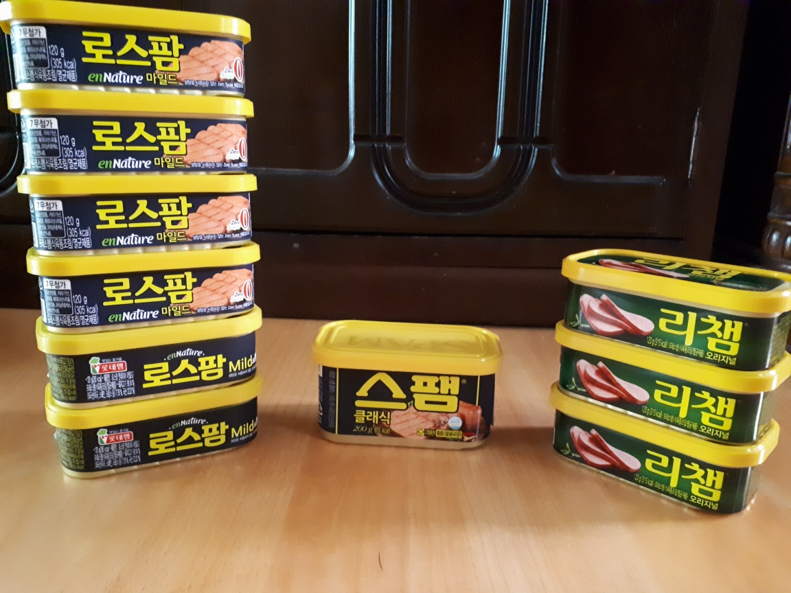 스팸 로스팜 리챔 + (서비스 3분 짜장)