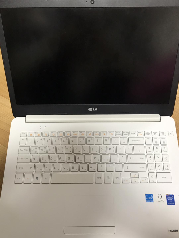 LG(15u34) 램4g 노트북 팝니다
