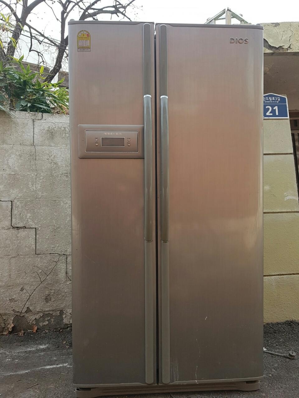 엘지 양문형냉장고