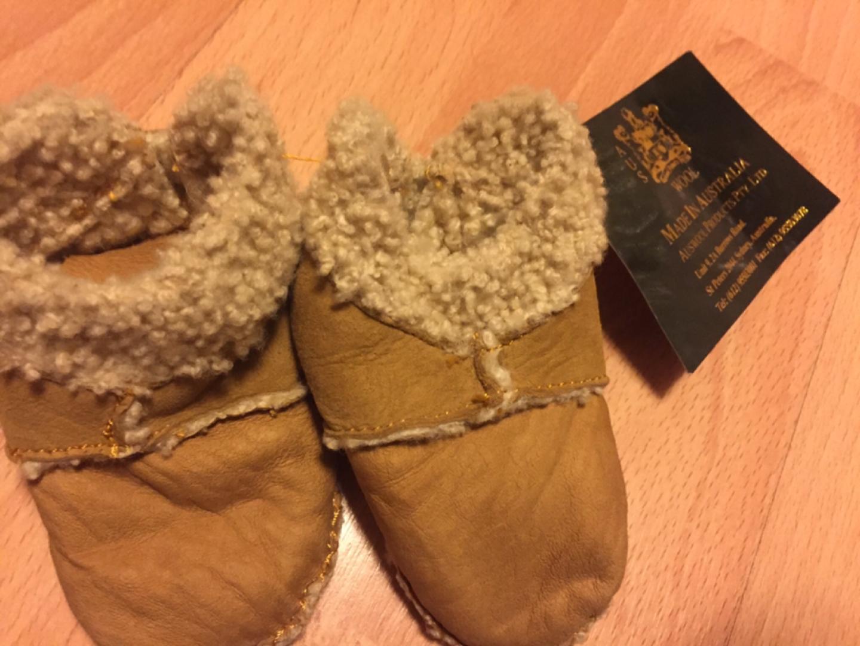 호주에서 사온 울(wool)애기 신발(새상품)