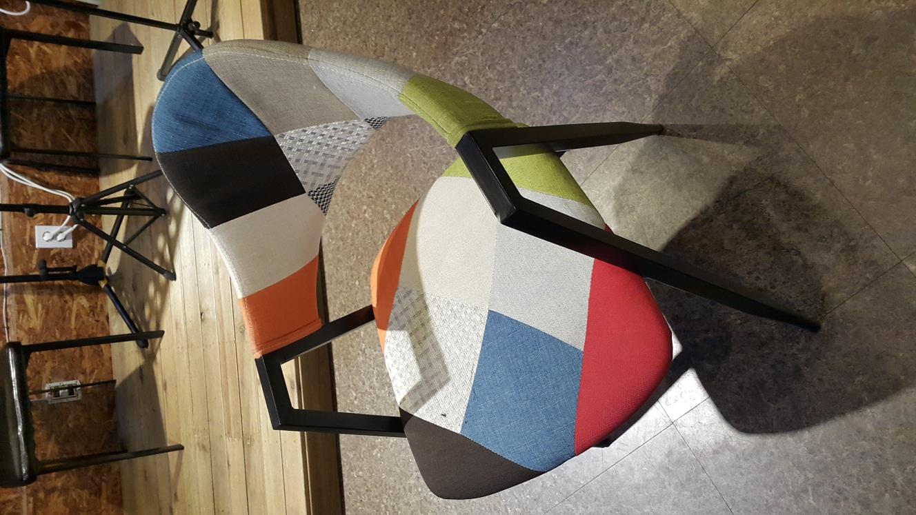 의자 탁자 원형테이블