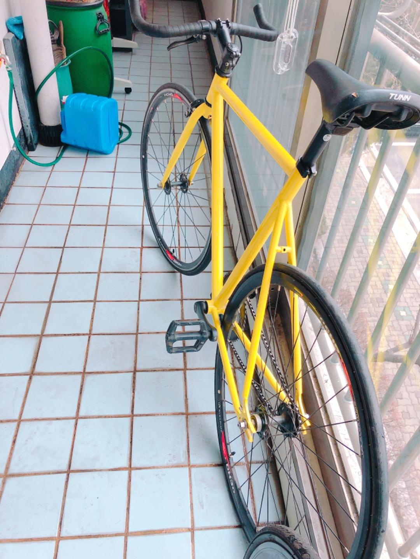 바이크 크롬  로 퍼슛픽시 자전거