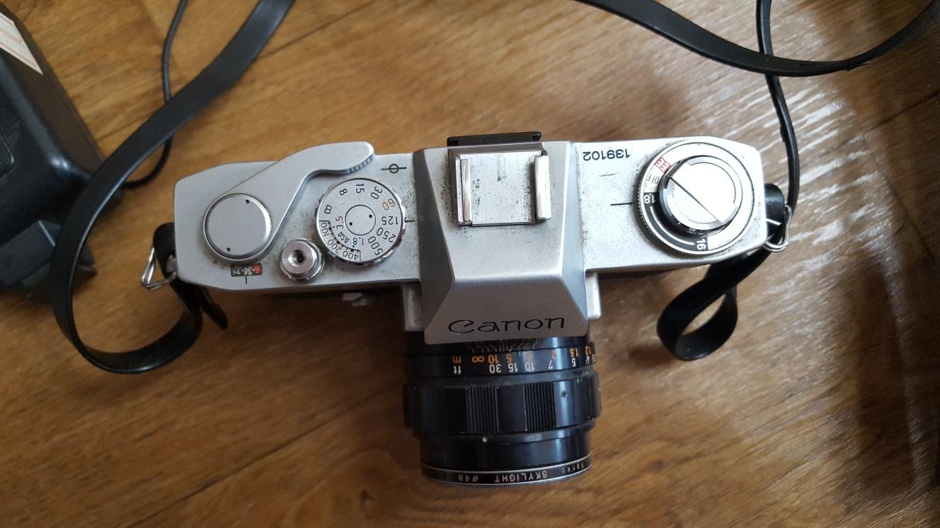오래된 카메라