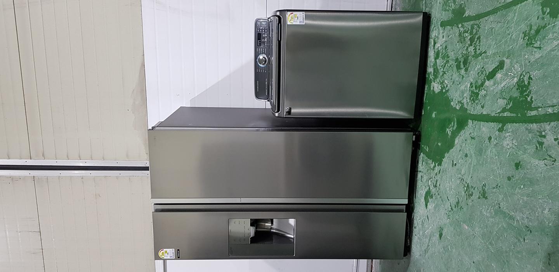 삼성양문형냉장고+엑티브워시세탁기 메탈세트2016년 파주중고가전