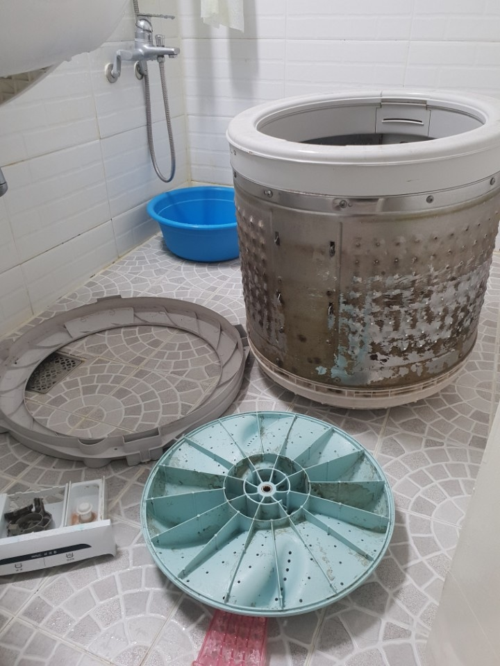 세탁기 에어컨분해 살균세척