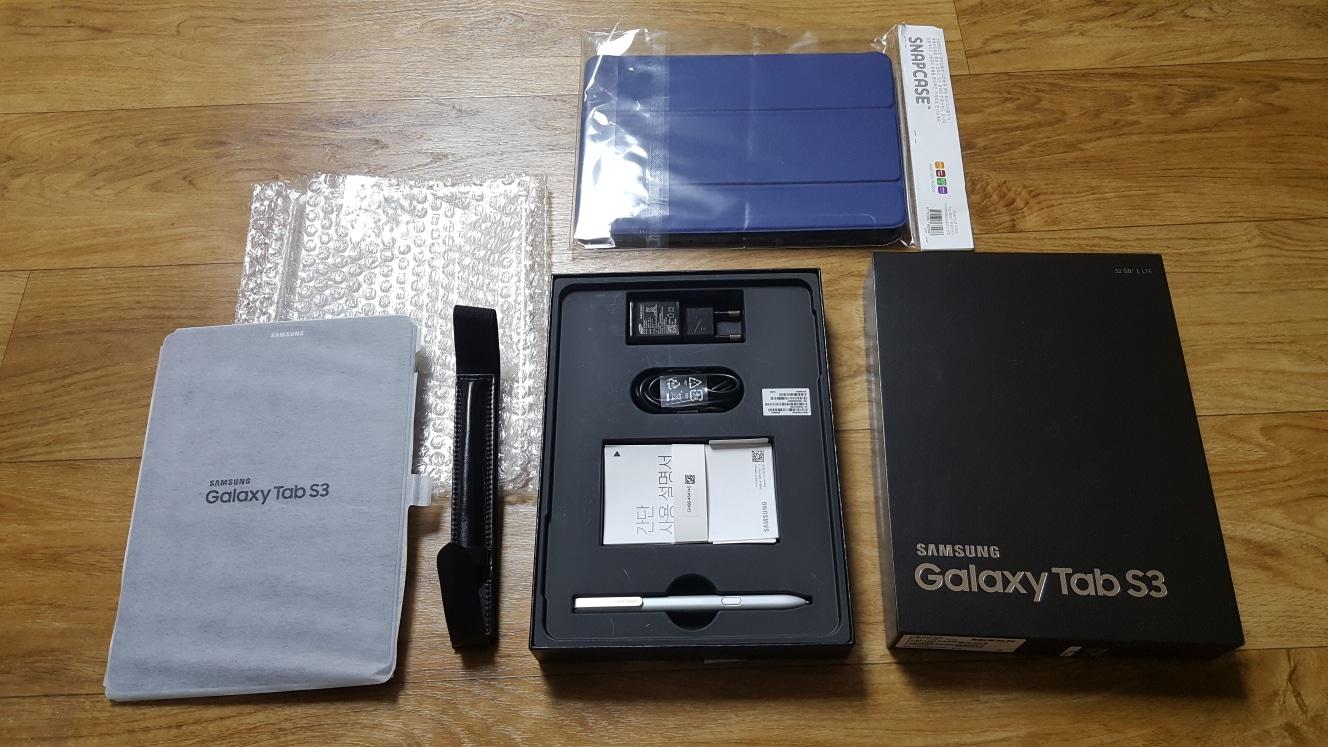 확내림 갤럭시탭s3 lte 32g 안드로이드 컴퓨터 ~포장만 개봉