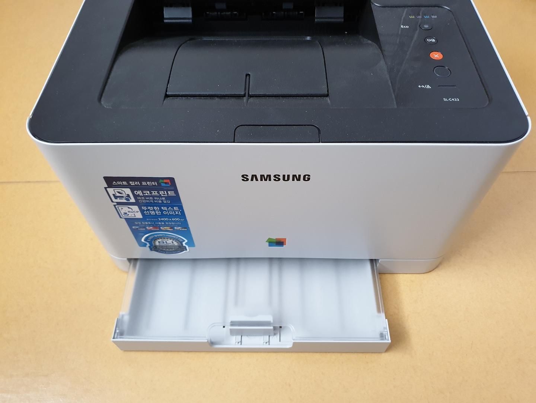 삼성 컬러 레이저 프린터 판매합니다