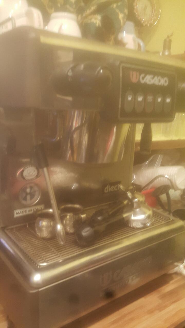 까페 커피머신