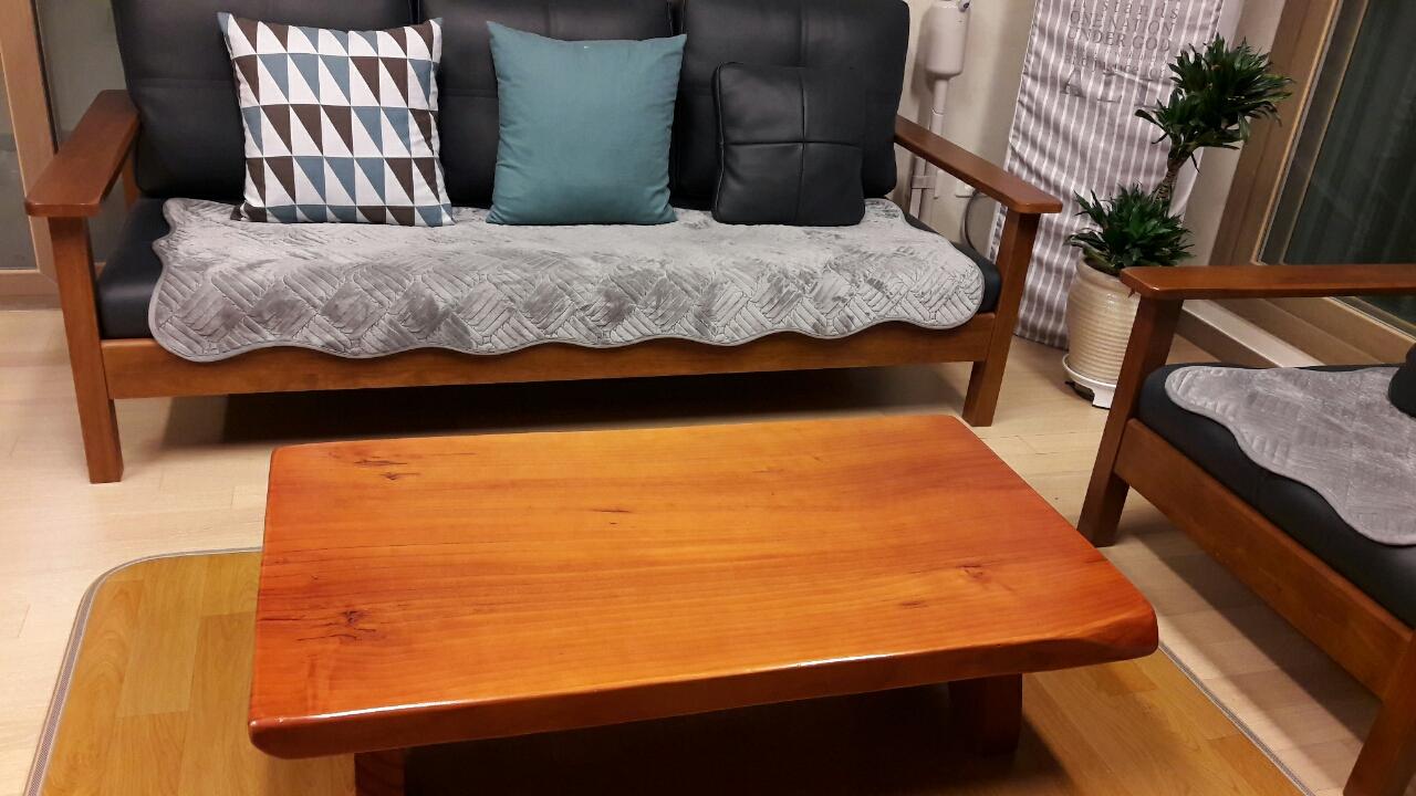 원목(통나무)탁자