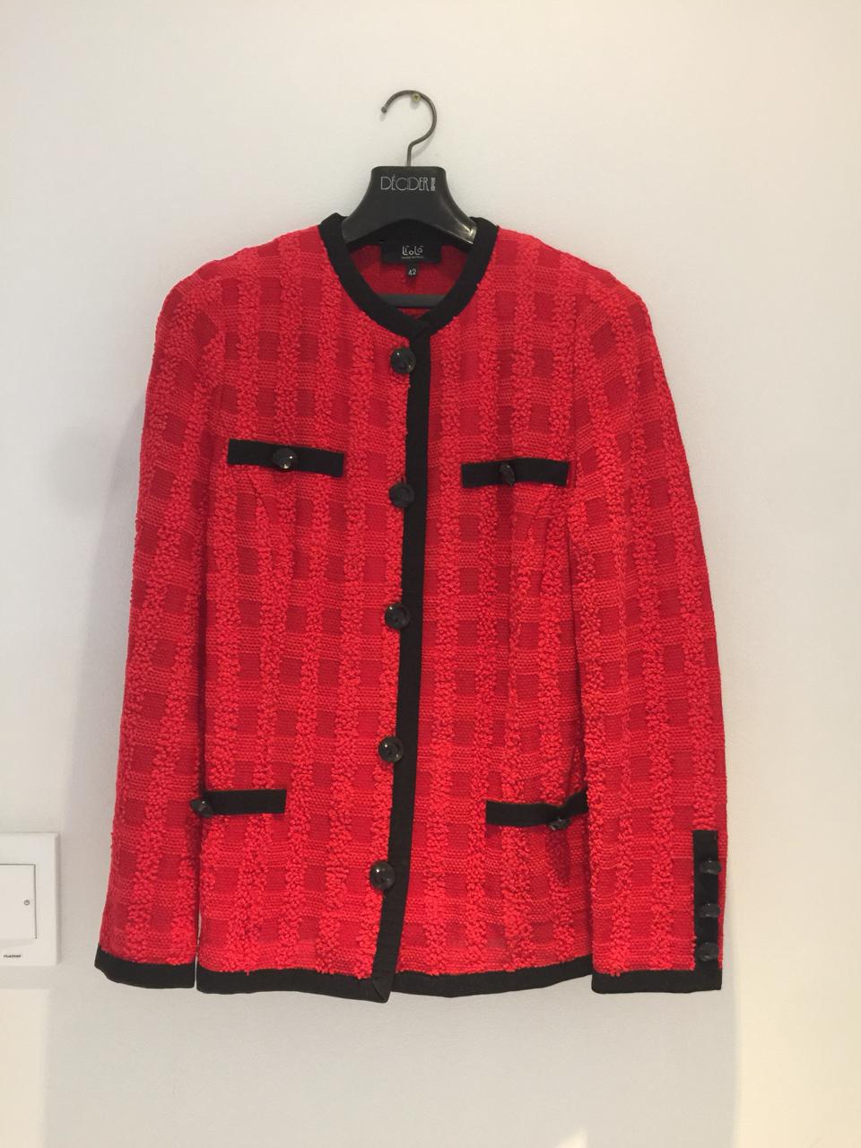 이태리 리올라 트위드 쟈켓과 스커트 세트(개별판매 가능)