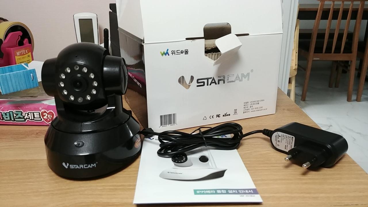 가정용 CCTV 위드앤올 VSTARCAM-200G