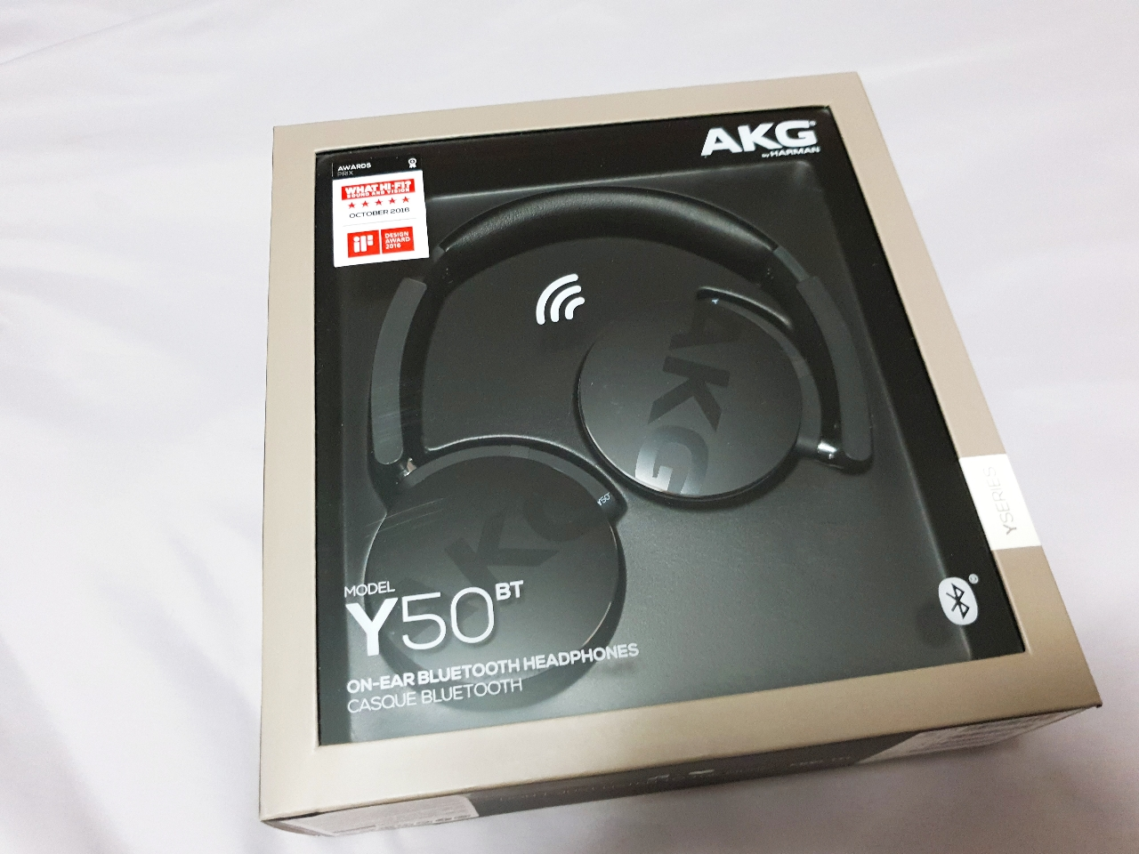 AKG 유무선헤드폰 Y50BT 블루투스헤드폰