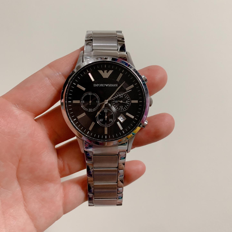 (정품) 엠포리오아르마니 남자시계
