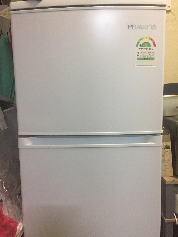 프라우드 151L 냉장고 팝니다