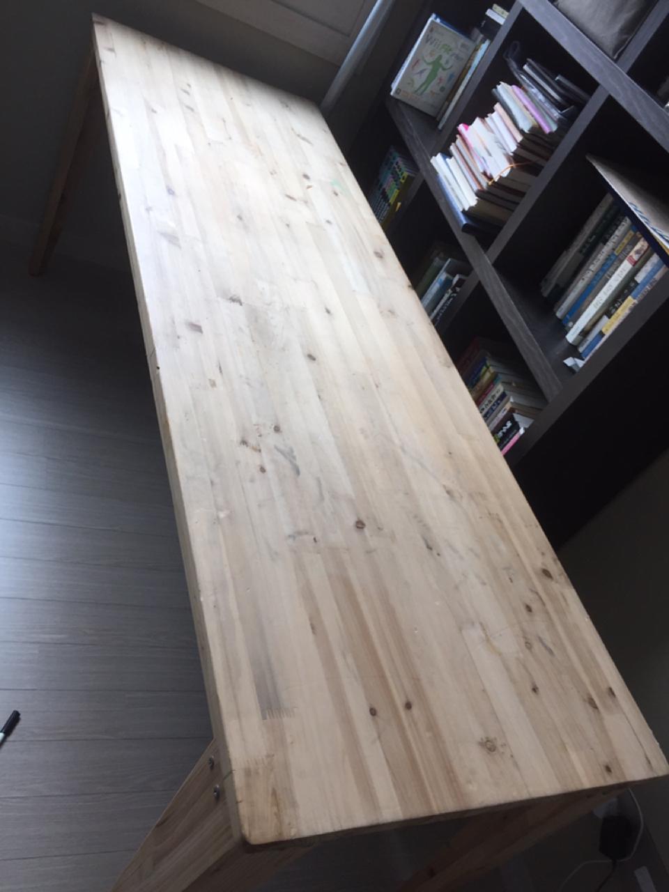 나무테이블