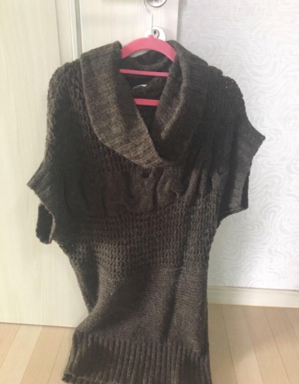 롱 니트옷