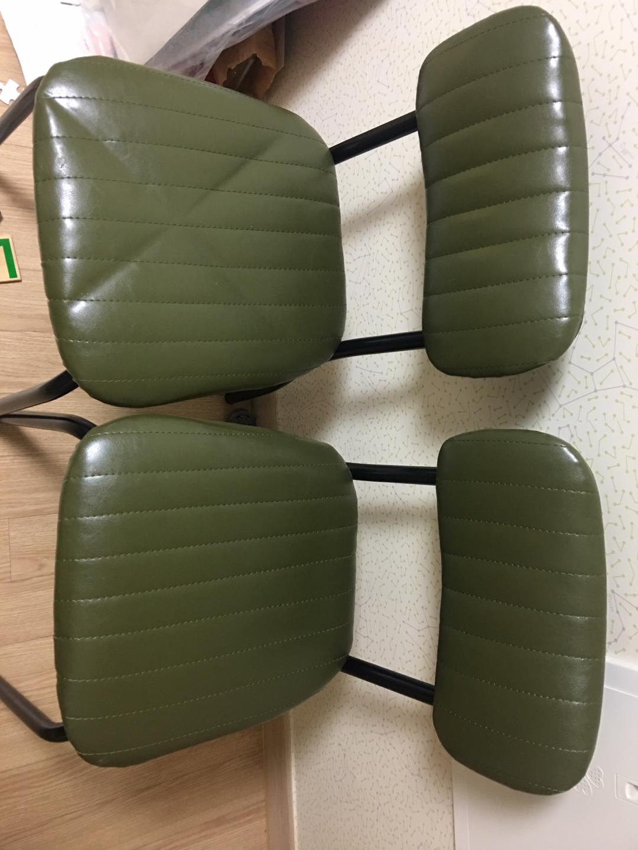 브레드의자- 가벼운 철제의자