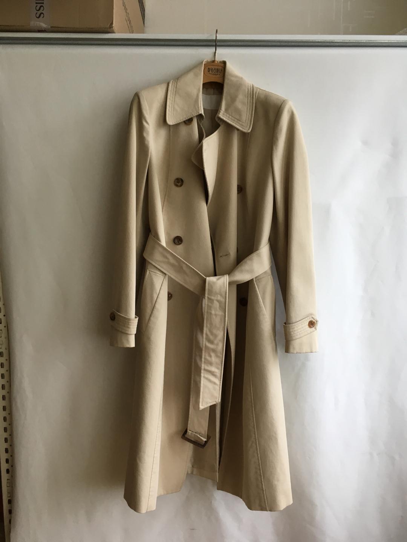 mine 마인 트렌치 코트