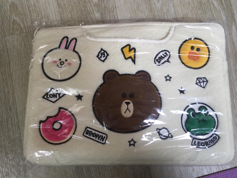 노트북 가방-프렌즈캐릭터 노트북 가방(13인치)