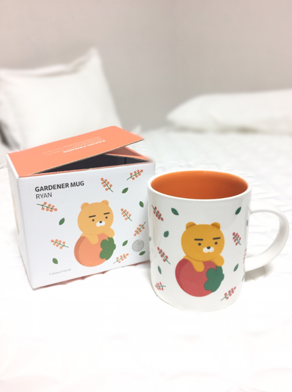 [새상품] 라이언머그컵 카카오프렌즈컵 라이언컵 카카오프렌즈머그컵