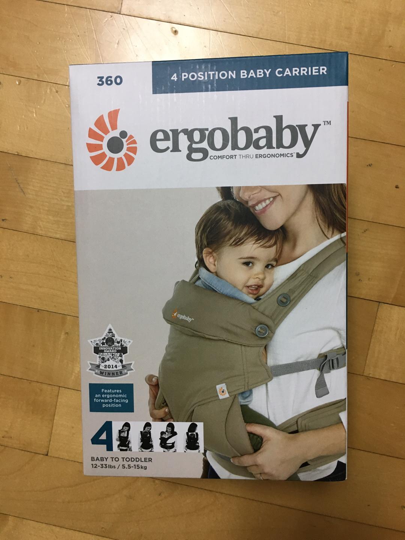 에르고베이비 4포지션 360 문스톤 아기띠 새상품(원하시면 중고 신생아패드도 드림)
