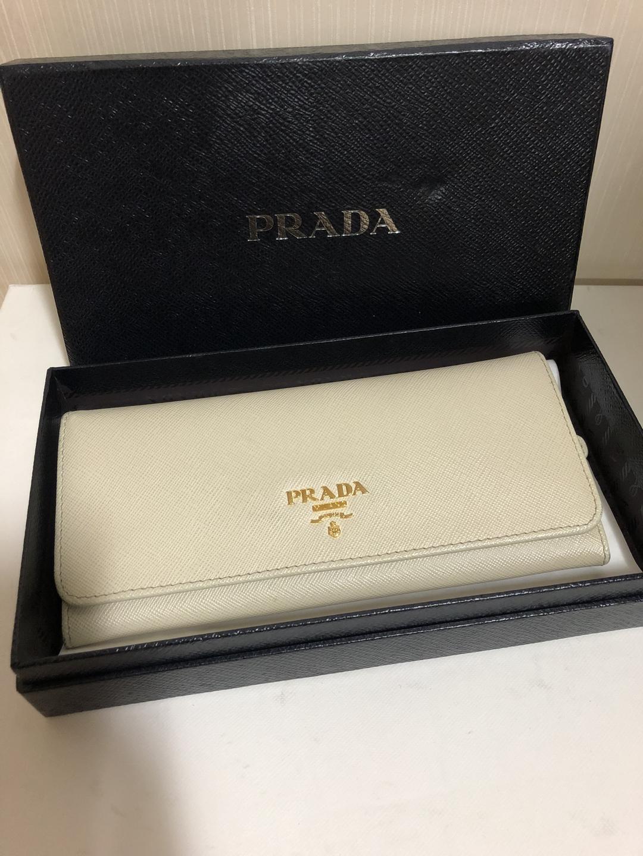 [지갑] 프라다 사피아노 장지갑