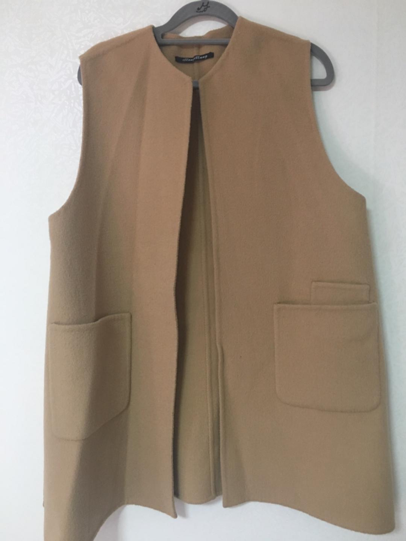 여성 속조끼 팜. 코트속에 입기 좋아요.