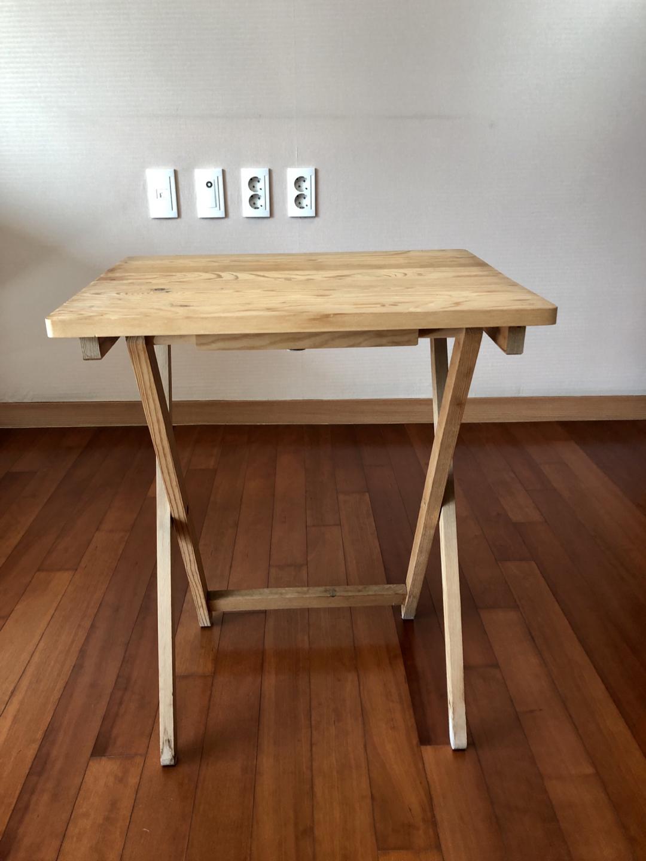 이케아 원목 테이블
