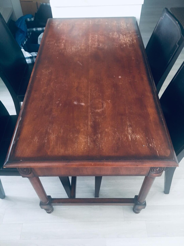 앤틱 책상, 식탁의자 4개
