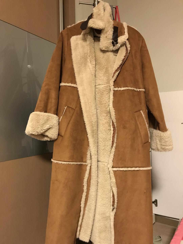 카멜 무스탕 코트 판매합니다