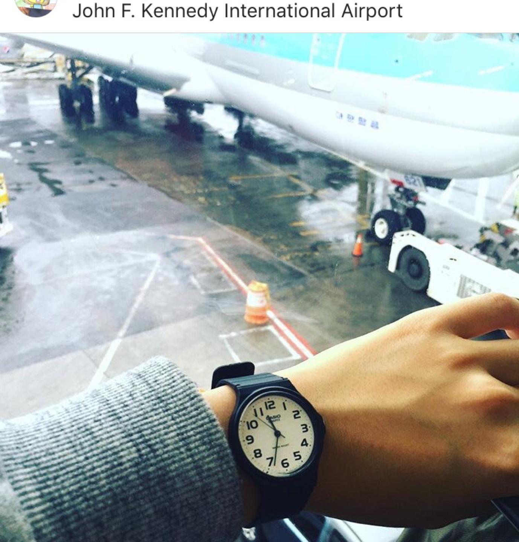카시오 손목시계 (수능시계)
