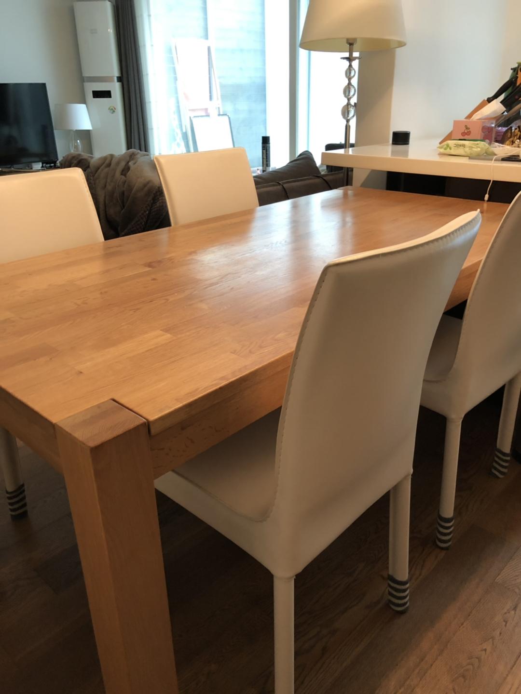 화이트 식탁의자 4개세트 (의자만입니다)