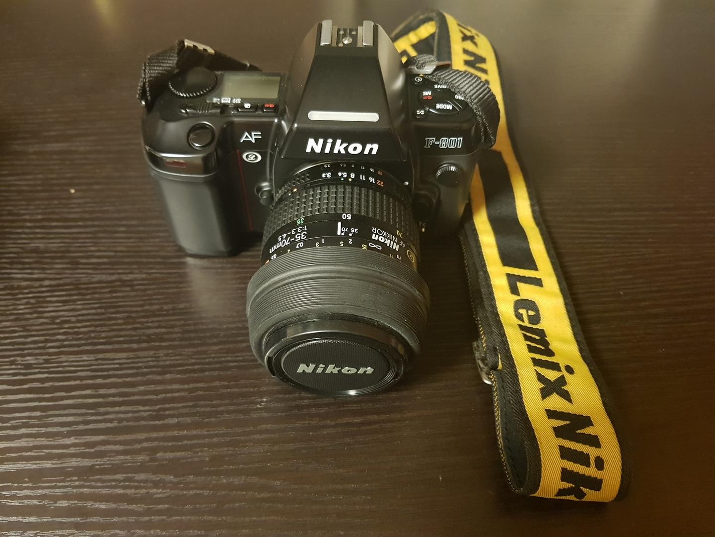 니콘 F801 필름카메라